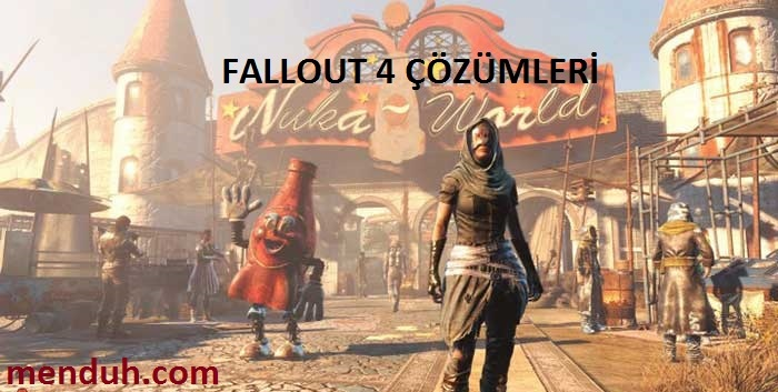 Fallout 4 Sorunu hatası çözümü