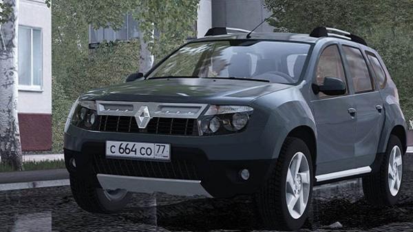 CCD Renault Duster Araba Modu