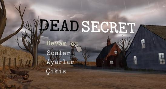 Dead Secret Türkçe Yama