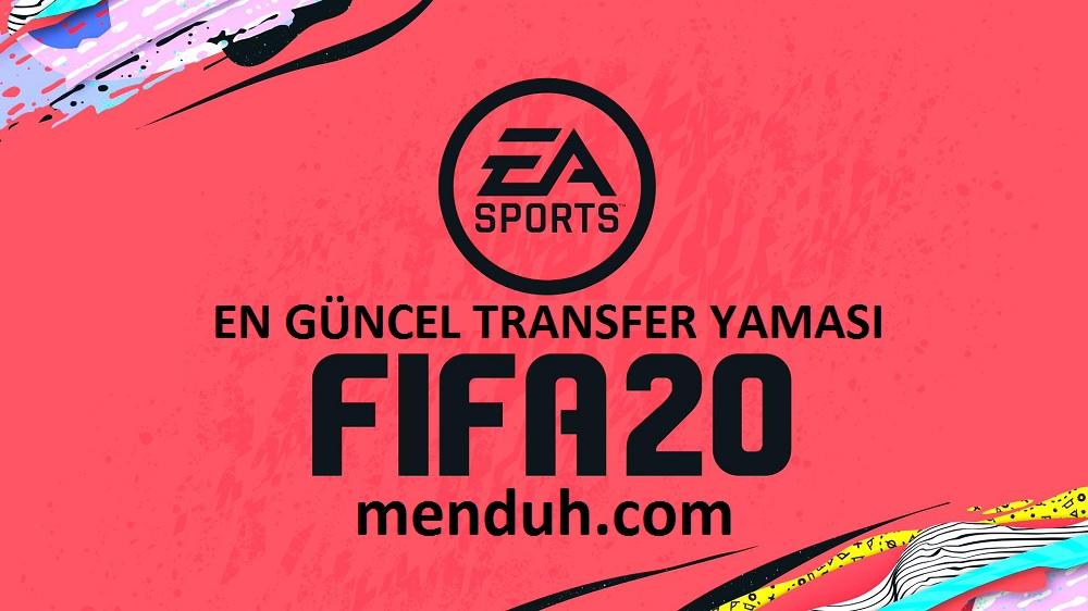 Fifa 20 Transfer Yaması – En Güncel Transfer yaması