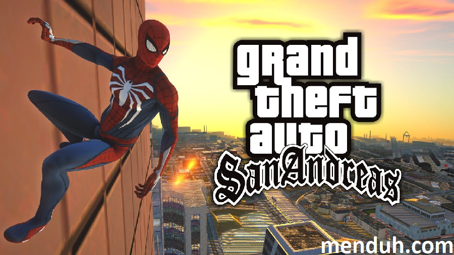 GTA San Andreas Spiderman Modu