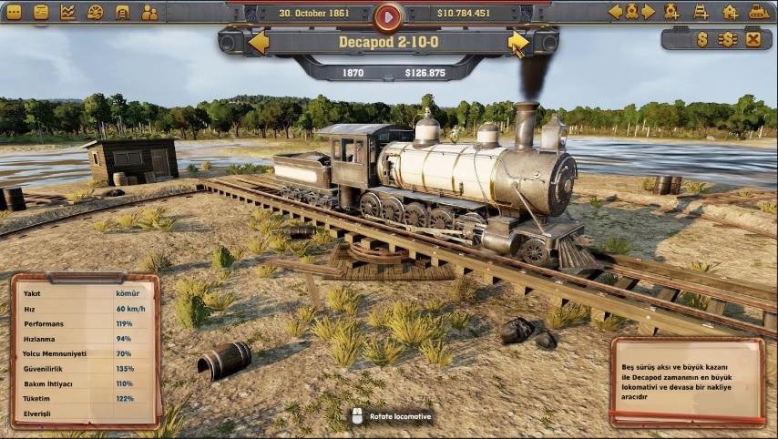 Railway Empire Türkçe Yama