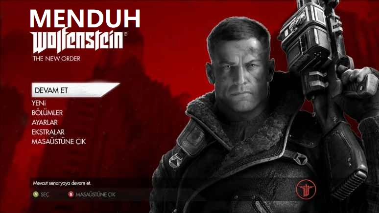 Wolfenstein 2 the new colossus Türkçe Yama