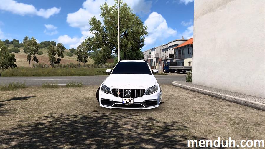 ETS 2 Mercedes C63S Modu 1.40