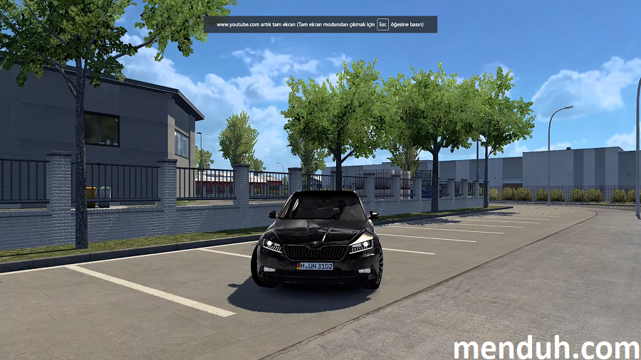 ETS 2 Skoda Superb Modu 1.40