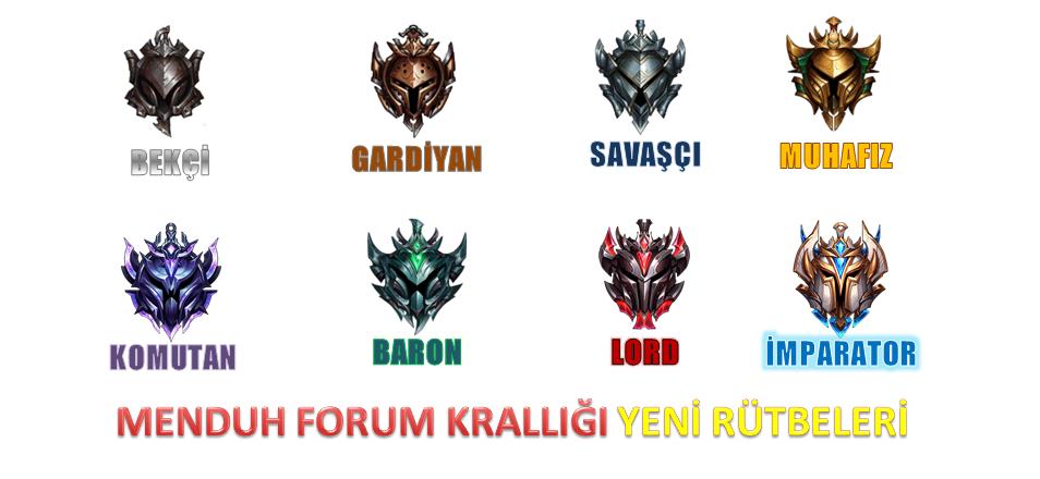 Forum Krallığımızın Rütbeleri